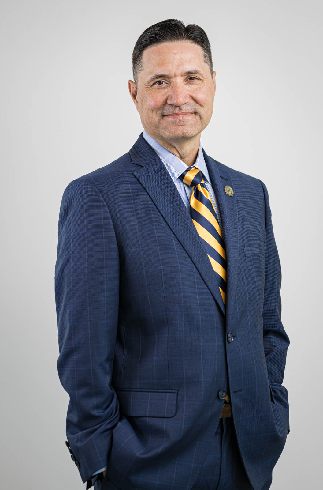 Interim Chancellor Nathan Brostrom of UC Merced