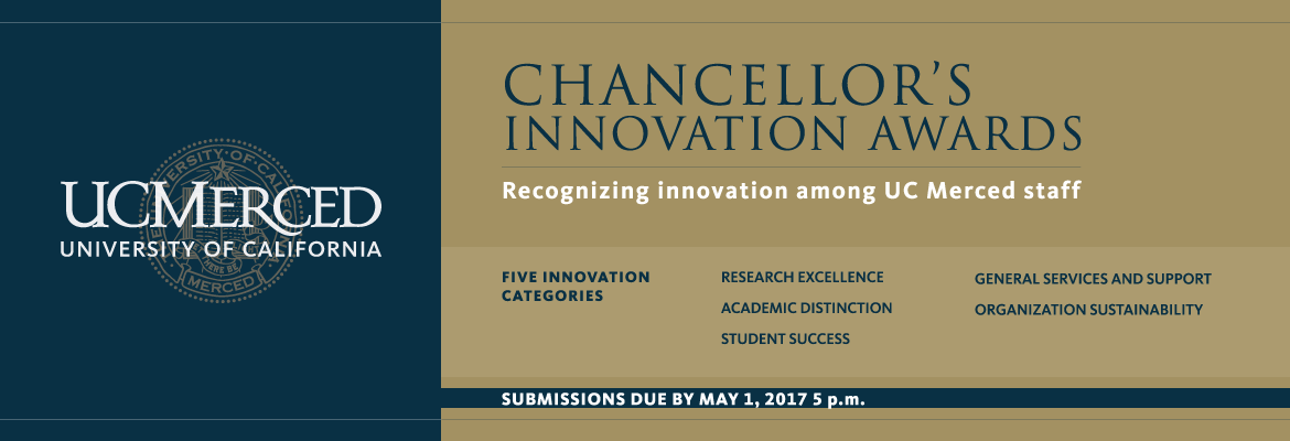UC Merced - Chancellor's Innovation Awards