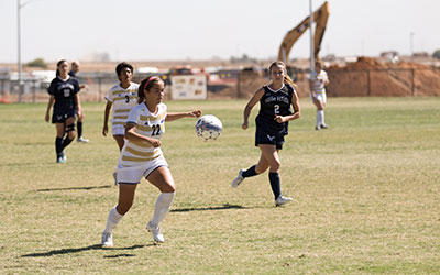 Meneses, No. 22 on the field, helped the Bobcats to a 43-14-10 record and two conference championship games.