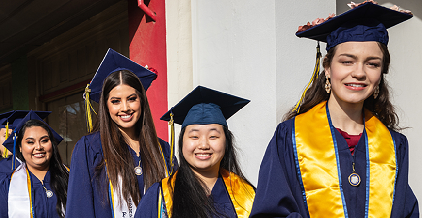 More than 140 UC Merced students walked the stage during Fall Commencement.