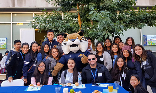 Prospective students from across California visited UC Merced, some for the first time.