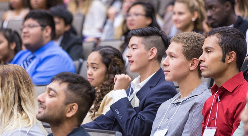 About 300 undergraduate and graduate students participated in the 2017 Leadership Conference.