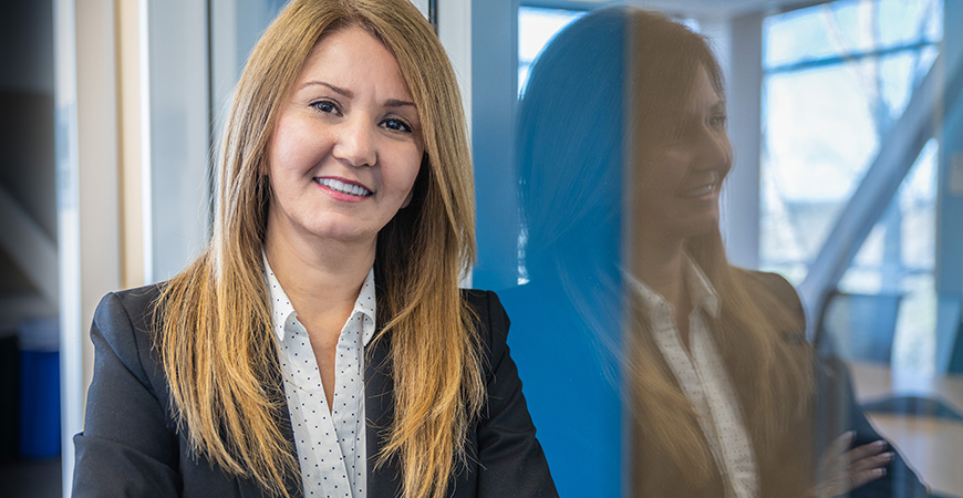 Maria Nishanian will assist graduate students with academic support, time management skills, communication skills, and referrals to campus and community resources.