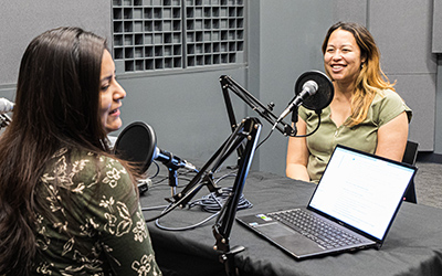 Graduate student led science podcast RadioBio is breaking down the walls between scientists and non-scientists.